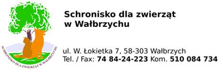 Schronisko dla zwierząt w Wałbrzychu